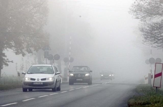 Mgła w Poznaniu.