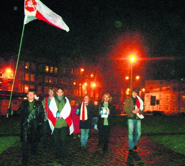 Tradycja studenckich protestów w imię solidarności z Białorusią sięga w Gdańsku 2006 roku