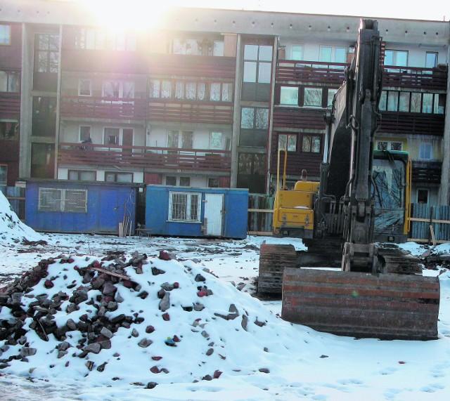 Powstający właśnie dom TBS przy ul. Nowotarskiej nie będzie ogrzewany przez Geotermię