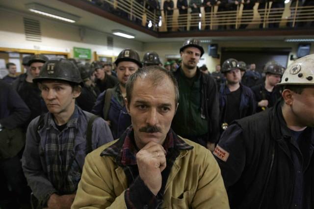 W czwartek strajkowali między innymi górnicy z kopalni Bobrek-Centrum w Bytomiu