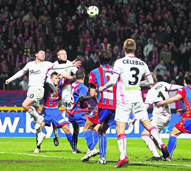 Wiosną poprzedniego sezonu Śląsk w Bytomiu zremisował 0:0