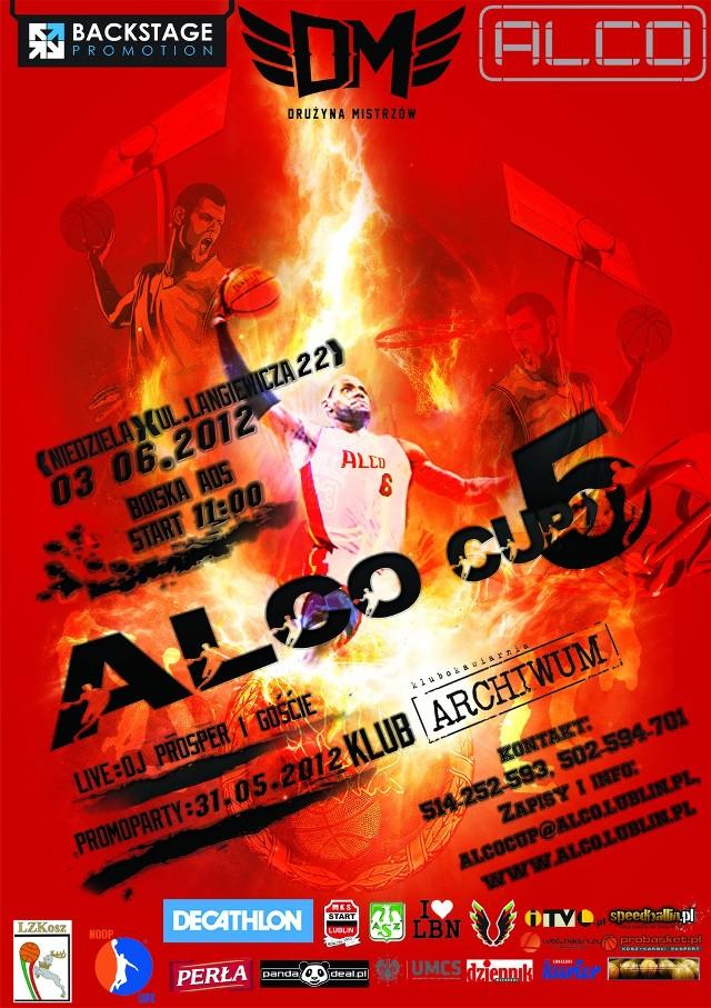 Plakat promujący Alco Cup