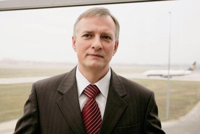 Prezes Mariusz Wiatrowski wciąż zapewnia, że termin rozbudowy lotniska nie jest zagrożony