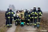 Łęki. Strażacy z OSP Łęki zbierają pieniądze na zakup samochodu pożarniczego