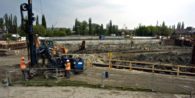 Wmurowanie kamienia węgielnego pod ECS zaplanowano na sobotnie popołudnie.