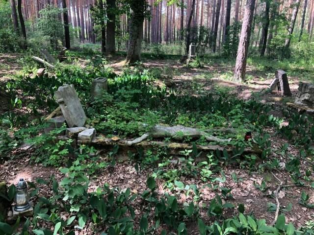 Cmentarz w Zielonej Górze Janach pochodzi z przełomu XIX i XX wiek