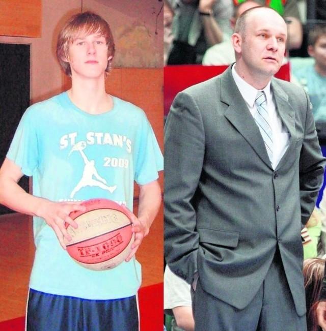 Jarosław Zyskowski nie musiał w szczególny sposób zachęcać syna do koszykówki