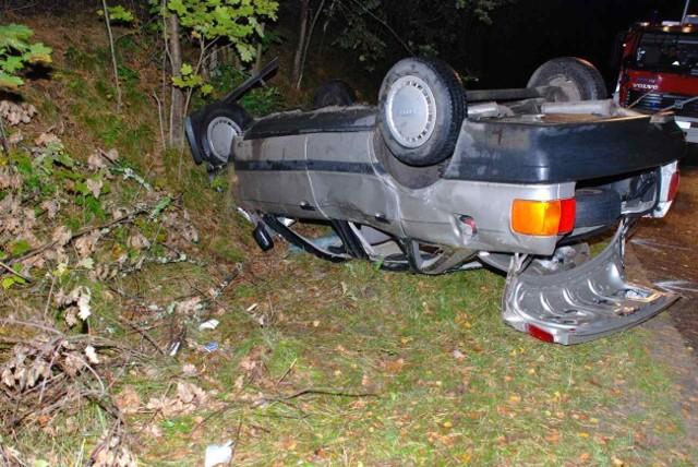 Policja ustaliła, że w momencie zderzenia audi przekroczyło dopuszczalną prędkość o kilkanaście km/h