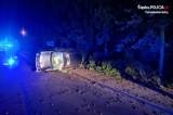 Wjechał samochodem w ogrodzenie w Tarnowskich Górach. 20-latek z Bytomia miał 1,5 promila alkoholu