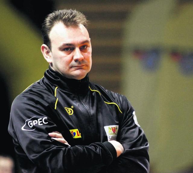 Trener Dariusz Luks postanowił wyjechać z Gdańska