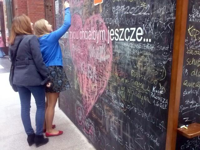 Stary Browar w Poznaniu: Co chciałbyś jeszcze zrobić w życiu? Napisz to na tablicy!