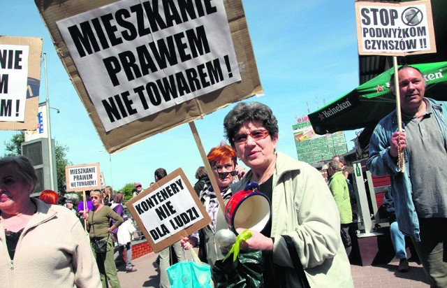Najemcy mieszkań komunalnych zapowiadają, że nadal będą protestować przeciwko reformie