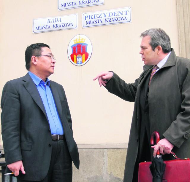 Wczoraj przedstawiciele COVEC odwiedzili krakowski magistrat