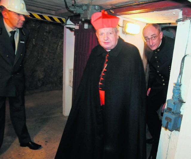Kard. Stanisław Dziwisz odprawi drogę krzyżową w kopalni