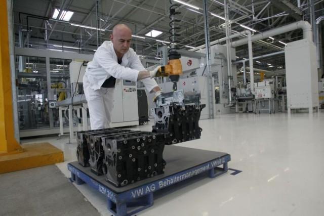 Volkswagen Motor Polska uruchomił produkcję nowego silnika. Pracę w firmie znajdzie kolejnych 150 pracowników