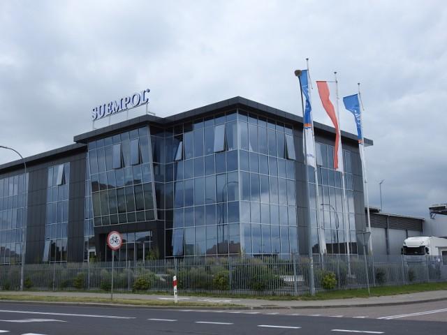 Na terenie zakładu Suempol w Bielsku Podlaskim doszło do tragedii