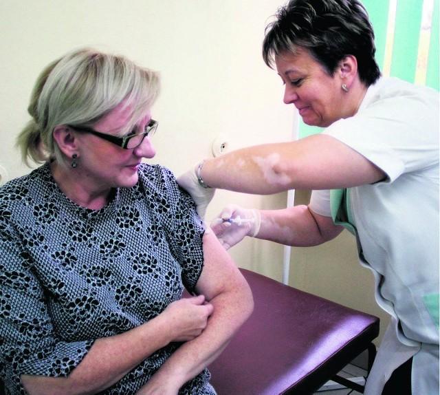 Na bezpłatne szczepionki na grypę w Zagłębiu nie ma co liczyć