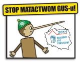 Happening RAŚ: Stop matactwom GUSu!