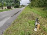 Tragiczny wypadek w Rudniku Wielkim. Mieszkańcy są w szoku, ale niechętnie mówią o tej tragedii. W miejscu wypadku palą się znicze