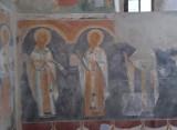Wnętrza najstarszej murowanej cerkwi obronnej w Polsce w Posadzie Rybotyckiej koło Przemyśla [ZDJĘCIA]