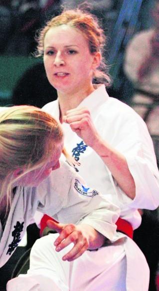 Agata Kaliciak (+65 kg) dzięki wygranej pojedzie na ME