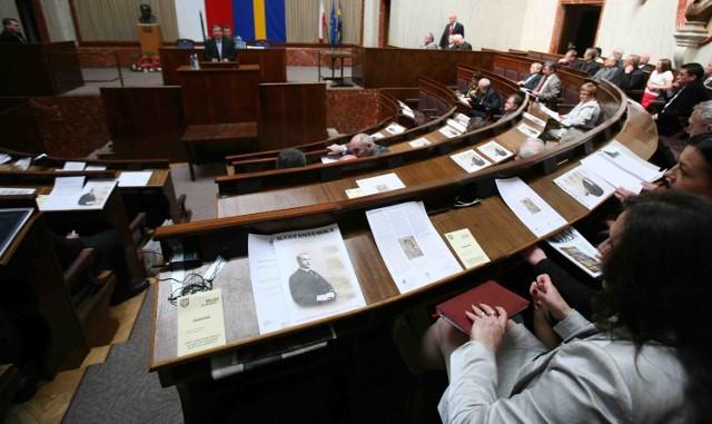 Rok Korfantego zainaugurowała uroczysta sesja w sali Sejmiku Śląskiego