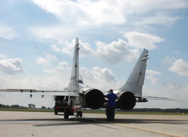 Niezaprzeczalną zaletą MiG-ów 29 jest to, że są wyposażone w dwa silniki