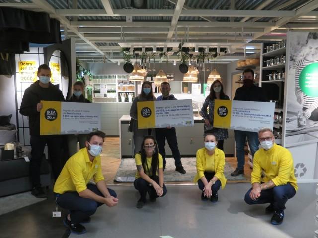 IKEA Katowice urządziła konkurs urodzinowy. Znamy zwycięzców.   Zobacz kolejne zdjęcia. Przesuń zdjęcia w prawo - wciśnij strzałkę lub przycisk NASTĘPNE.