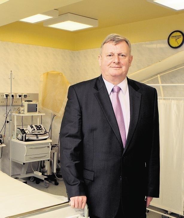 Dyrektor Jacek Łukomski ma nadzieję, że szpital powstanie za trzy lata