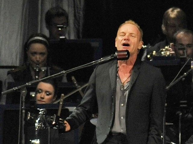 Koncert Stinga w Poznaniu.