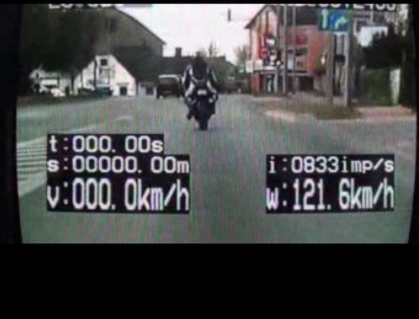 Biała Podlaska: 24 punkty karne dla motocyklisty