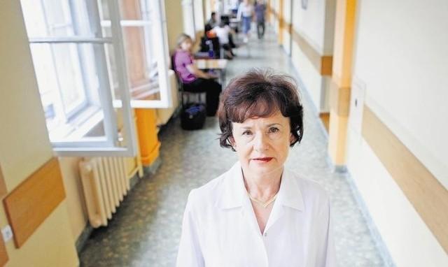 Prof. Krystyna Zawilska martwi się o swoich pacjentów
