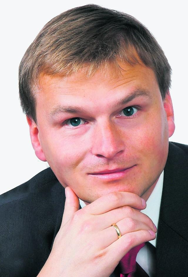 Marcin Jagła ostrzega młodych przed środkami odurzającymi
