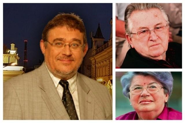 Pierwsza trójka - senatorowie rekordziści pod względem liczby głosów: Rafał Muchacki, Kazimierz Kutz, Maria Pańczyk-Pozdziej