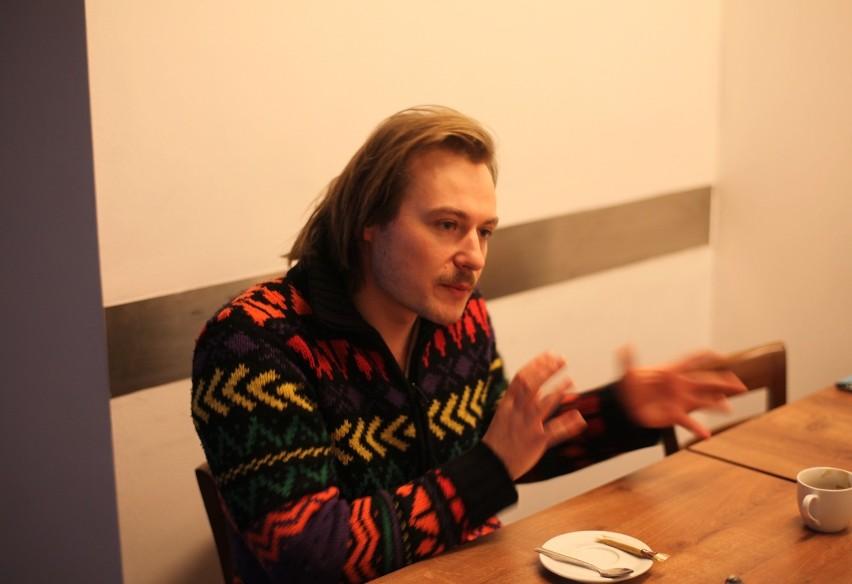 "Marcin Cecko, autor nowej ""Balladyny"""
