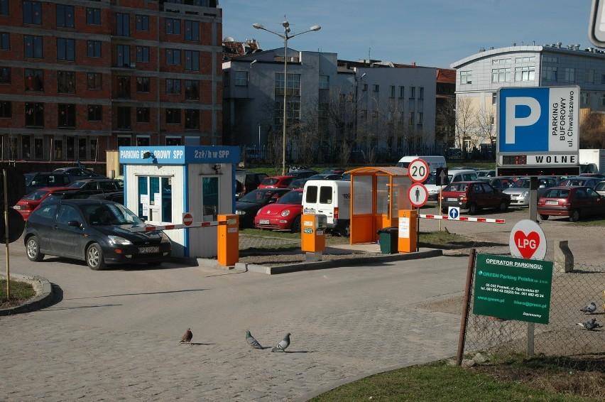 Poznań zarobi około 2 miliony złotych więcej na parkingach buforowych