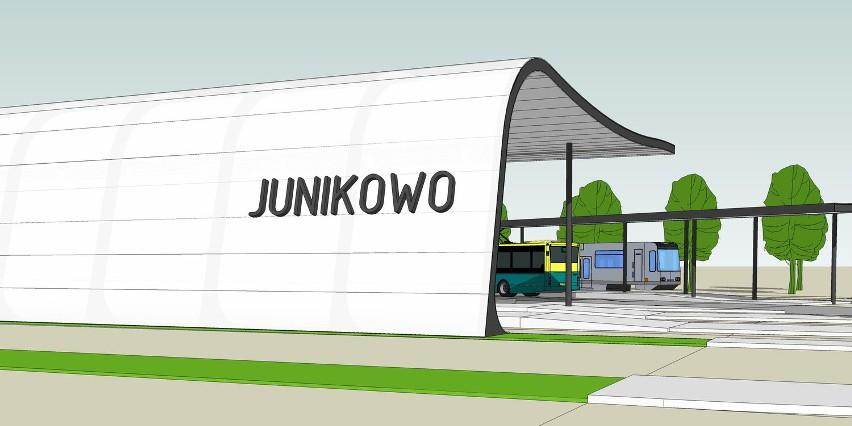 Taki dworzec, tramwajowo-autobusowy, powstanie na Junikowie