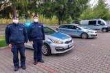 Policjanci i strażacy z Radomska oddali cześć śp. Michałowi Kędzierskiemu. Policjant został zastrzelony na służbie