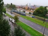 Burza szaleje w Krakowie, brak prądu, nie kursowały tramwaje