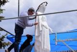 Ruszyły prace związane z rewitalizacją pomnika Matki Boskiej