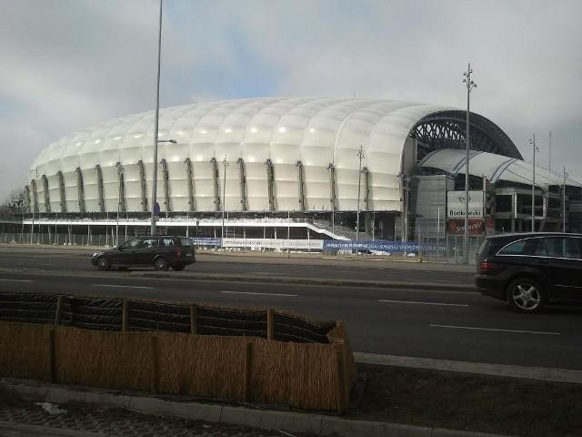 Stadion Miejski w Poznaniu.
