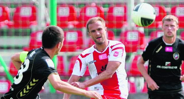Antoni Łukasiewicz w Krakowie zdobył zwycięskiego gola dla ŁKS.