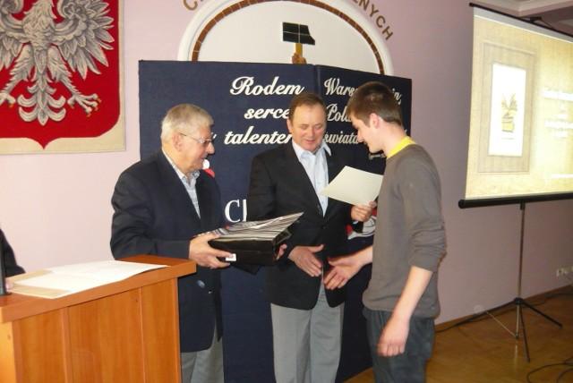 Zwycięscy oprócz dyplomów odebrali także nagrody