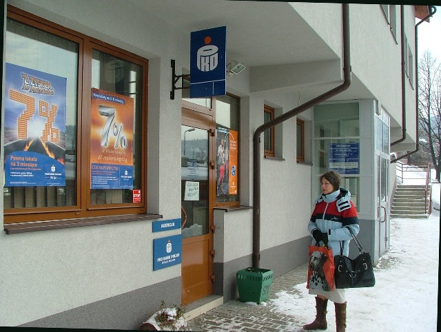 Najgłośniejszy był napad na agencję banku w Szczawnicy