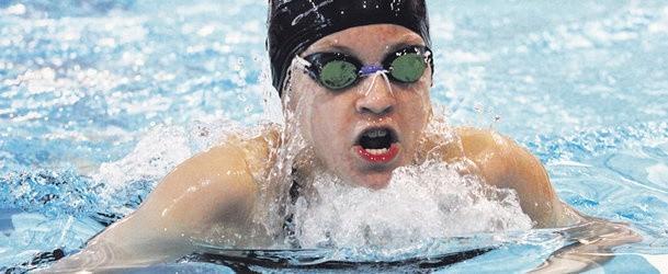 Zuzanna Chwadeczko (MTP Lublinianka) jest wielką nadzieją pływania na Lubelszczyźnie