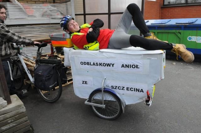 Odblaskowy Anioł zawitał do Lublina