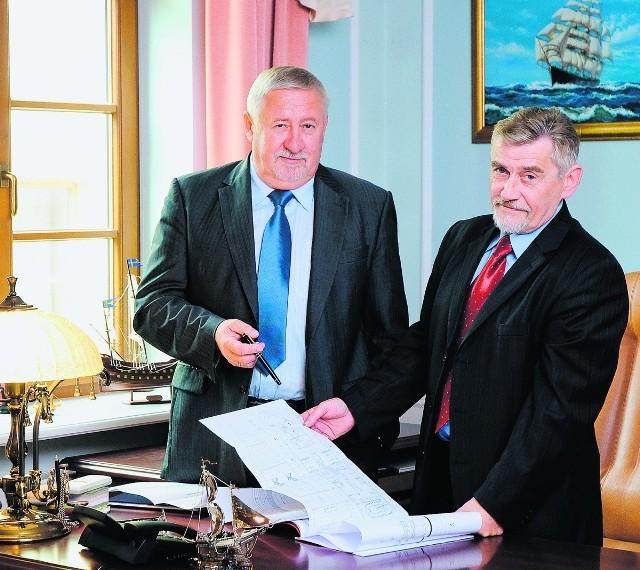 Ireneusz Ćwirko i Krzysztof Kulczycki, właściciele Stoczni Crist - przeczytaj rozmowę z biznesmenami