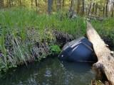 Telewizor pływał w rzece