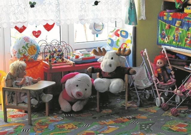 Na pierwszy rzut oka placówka nie różni się od pozostałych. Na dzieci czekają zabawki...