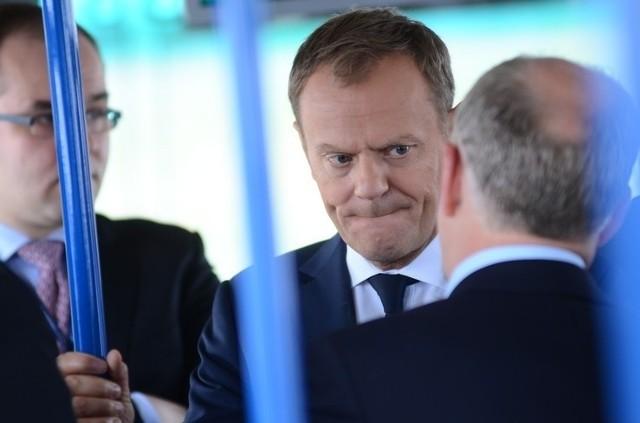 Premier Donald Tusk w Poznaniu